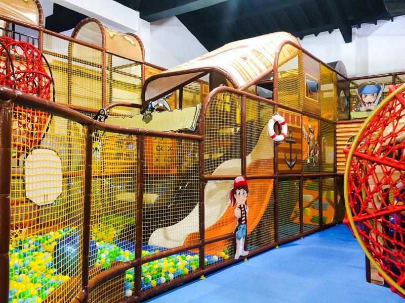 Pirates' Adventure Indoor Playground one of kids activities at Chill Cove Treasure Bay Bintan
